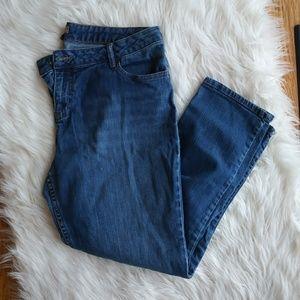 2/$20 J.Jill Sz 12 Ankle Jeans